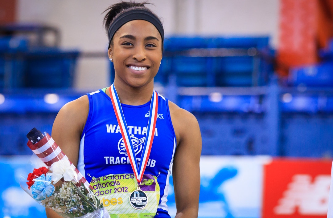 Carla Forbes – 2012 National Triple Jump Champion