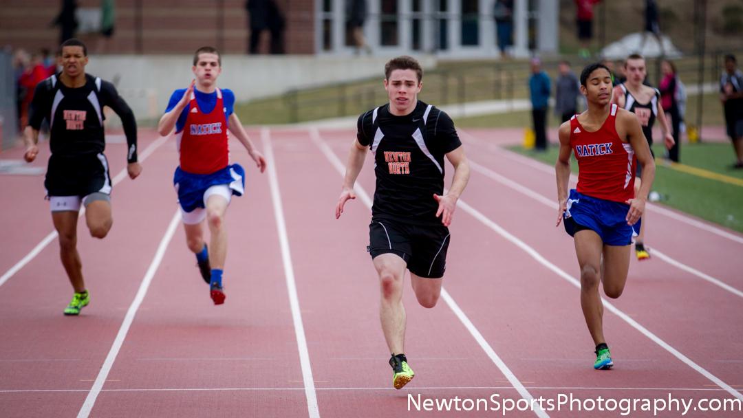 Newton North vs. Natick 2013 Outdoor Track