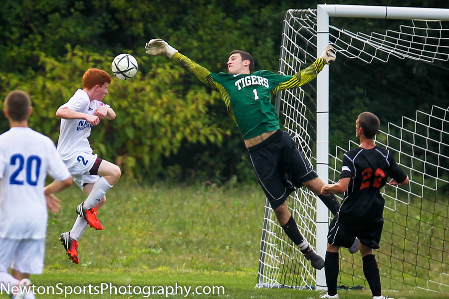 Newton North falls to Natick 4-1