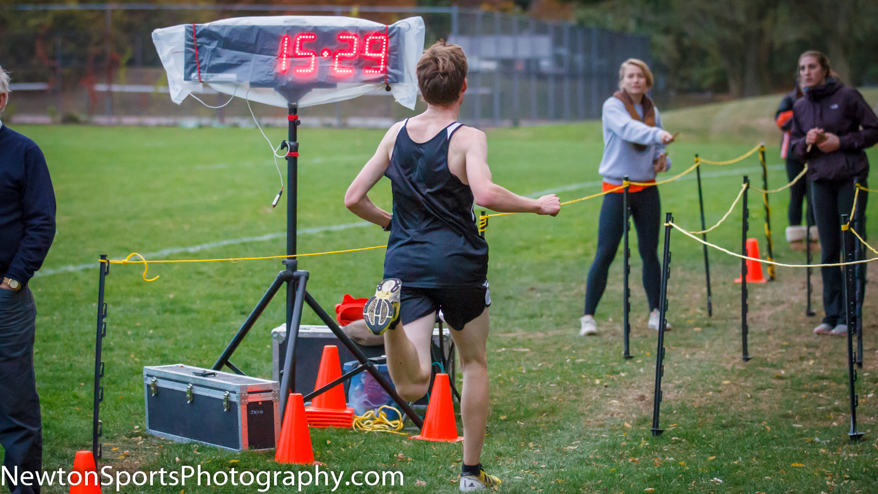 Newton North over Brookline in final Girls and Boys Cross Country duals