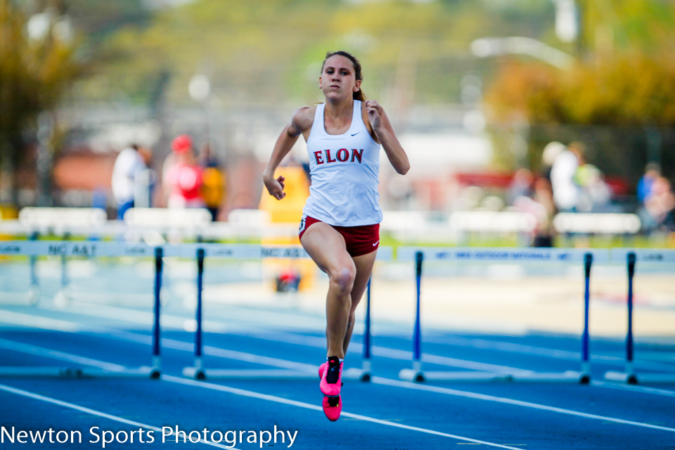 Elon Track and Field Competes at Aggie Invitational